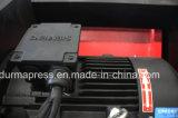 Máquina que pela para la venta, máquina que pela automática de la placa del CNC de la marca de fábrica QC12y-4*2500mm de Durmapress con el motor de Siemens