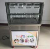Machine frite de crême glacée de roulis avec le cadre d'assaisonnement de huit plastiques