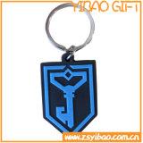 주문을 받아서 만들어진 PVC 중요한 꼬리표, 선전용 선물 (YB-PK-03)를 위한 열쇠 고리