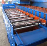 Tuile glacée par toit en acier de couleur formant la machine