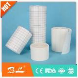 Roulis extensible d'emplâtre adhésif de fixation de roulis adhésif non-tissé de bande