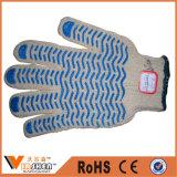 Gants en coton POINT en coton tricoté