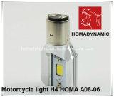 Modèle neuf du phare H4 12V 35W de la moto DEL avec le faisceau haut-bas 1200lm