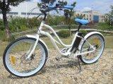 Bici elettrica della E-Bici En15194 della lega dei mozzi dell'incrociatore leggero poco costoso della spiaggia