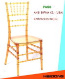 Ясный прозрачный стул Chiavari смолаы