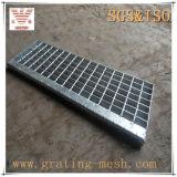 Решетка высокия стандарта стальная для проступи лестницы