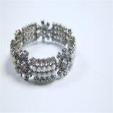Nouvelle conception de résine de perles acryliques en acier en caoutchouc boucles d'oreilles Bracelet Collier Set de bijoux
