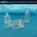 Бутылка пустого маникюра стеклянная для личной внимательности