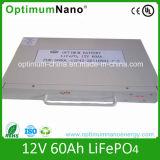 De douane Ontworpen 12V 60ah Batterij van het Lithium voor Elektrische Rolstoel