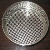 300mm Cinta de alambre de acero inoxidable de 50 micras Estándar de ensayo químico de laboratorio Tamiz