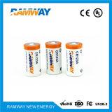 Batería de litio cilíndrica del poder más elevado Cr123A 3V para la videocámara profesional