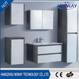 現代PVC壁に取り付けられた浴室の虚栄心のキャビネット