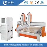 Travail du bois de machine de gravure du bois de Zk 1235 de coût bas