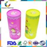 Caixa de embalagem cosmética feita sob encomenda do papel da cor