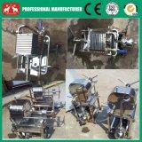 2016小さいステンレス製のココナッツ油の石油フィルターの出版物機械