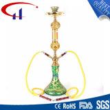 De hoge Materiële Gouden Kleur Shisha van het Glas (CHH8006)