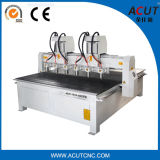 Multi máquina Acut-1325 do router do CNC do Woodworking do eixo
