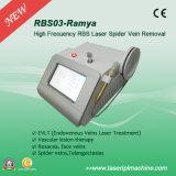 Laser medico del diodo di rimozione 980nm della vena del ragno Rbs03