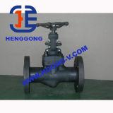 Válvula de porta de aço forjada de alta pressão da flange do petróleo de DIN/API