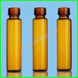 10 ml-bernsteinfarbige Glasflaschen