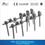 Aparato médico ortopédico del injerto del sistema espinal de Kss-II 5.5
