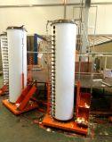20 Tubos géiser solar con 160 litros de depósito