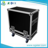 Caixote do Flight Case com mesa, rodas portadoras