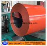 El color de Dx51d cubrió la bobina de acero