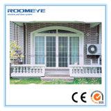 Aluminium de Roomeye glissant les portes glacées par double thermique d'interruption