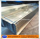 Hoja de hierro corrugado recubierto de zinc para techos