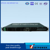 De Levering van de Macht van de Omschakeling van Subrack 1u 220VAC/48VDC 30A/het Systeem van de Gelijkrichter