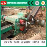 Broyeur en bois à haute production, longue machine en bois de broyeur