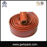 UL de Vuurvaste Slang van de goedkeuring en Koker van de Brand van de Kabel de Vuurvaste Silicone Met een laag bedekte