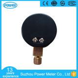 indicateur de pression en laiton de vide de bas de connexion de caisse d'ABS de 1.5inch-40mm