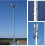 자활하는 원거리 통신 Monopole 탑