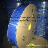 Boyau plat étendu par PVC agricole de l'eau bleue