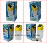 Bonne qualité Cuisine puissante Lanterne solaire PS-L045b Emballage personnalisé