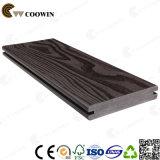 Decking composé de coextrusion de Gazebo en bois riche de WPC
