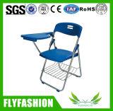 Cadeiras de plástico de cadeira de plástico dobrável com almofada de escrita (SF-36F)