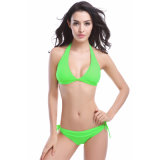 Bandeaudrahtloser Beachwear-Badeanzug 2 Stück-Frauen reizvoller Bikini