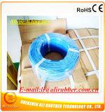 Fil de chauffage en caoutchouc de silicone du diamètre 5mm 110V 20W/M