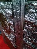 Portello di alluminio e di legno del rame e