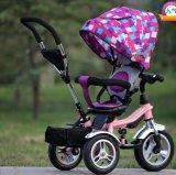 Mother (OKM-662)를 위한 Pushbar를 가진 싼 Children Baby Strollers Walker Tricycle