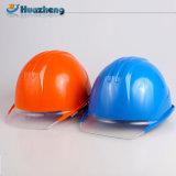 Casque coloré normal de sécurité du travail de fibre de verre de constructeurs de la Chine
