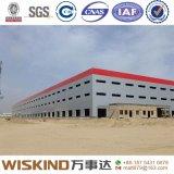 Edificio prefabricado de la estructura de acero para el almacén y la fábrica