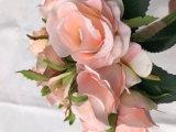 Decorazione falsa artificiale della casa di disposizione di fiore di cerimonia nuziale del fiore della Rosa del fiore di seta