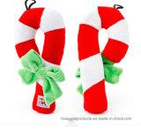 Il natale che suona l'animale domestico della peluche gioca i giocattoli del Babbo Natale