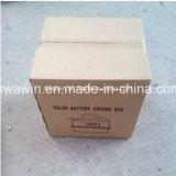 caixa de bateria enterrada plástico da alta qualidade de 12V 80ah