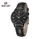 Nuevo reloj simple del cuarzo de señora Business Watch Waterproof Leather de Belbi