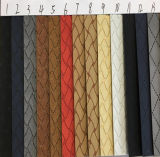 Cuoio sintetico per i pattini, indumento, mobilia, decorazione (HS-Y32) dell'unità di elaborazione del reticolo quadrato variopinto